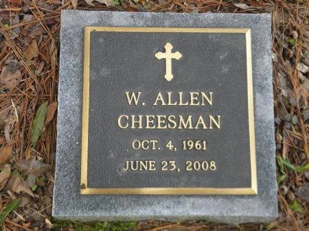 CHEESMAN, WHARTON ALLEN - Jefferson County, Arkansas | WHARTON ALLEN CHEESMAN - Arkansas Gravestone Photos