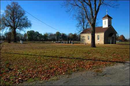 *CHURCH DISTANT VIEW,  - Jefferson County, Arkansas |  *CHURCH DISTANT VIEW - Arkansas Gravestone Photos