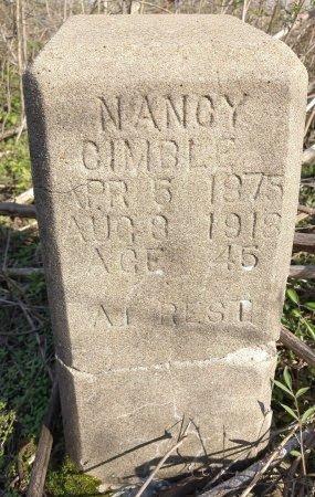 CIMBLE, NANCY - Jefferson County, Arkansas | NANCY CIMBLE - Arkansas Gravestone Photos