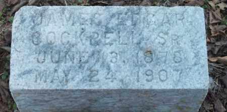 COCKRELL, SR, JAMES EDGAR - Jefferson County, Arkansas   JAMES EDGAR COCKRELL, SR - Arkansas Gravestone Photos