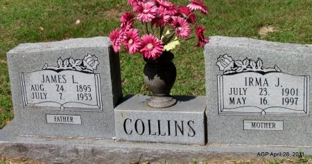 COLLINS, JAMES L. - Jefferson County, Arkansas | JAMES L. COLLINS - Arkansas Gravestone Photos