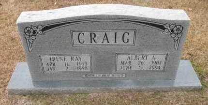 CRAIG, ALBERT A - Jefferson County, Arkansas | ALBERT A CRAIG - Arkansas Gravestone Photos