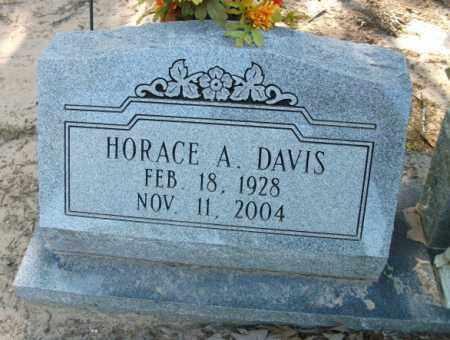 DAVIS, HORACE A - Jefferson County, Arkansas | HORACE A DAVIS - Arkansas Gravestone Photos