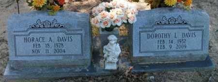 DAVIS, HORACE A - Jefferson County, Arkansas   HORACE A DAVIS - Arkansas Gravestone Photos