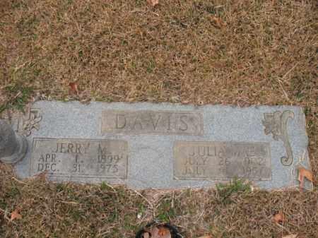 DAVIS, JULIA MAE - Jefferson County, Arkansas | JULIA MAE DAVIS - Arkansas Gravestone Photos