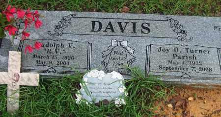 "DAVIS, RUDOLPH V ""R V"" - Jefferson County, Arkansas   RUDOLPH V ""R V"" DAVIS - Arkansas Gravestone Photos"