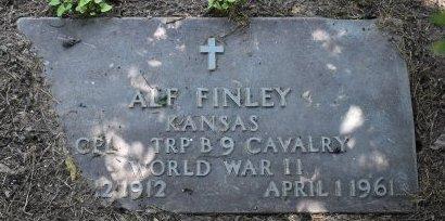 FINLEY, ALF - Jefferson County, Arkansas | ALF FINLEY - Arkansas Gravestone Photos