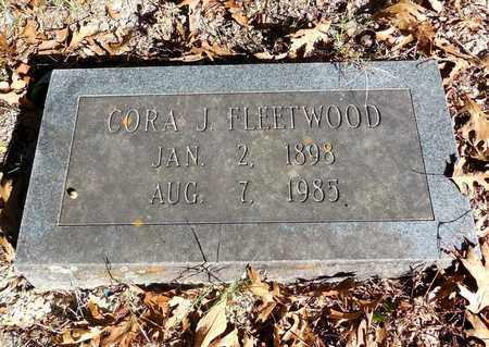 FLEETWOOD, CORA J - Jefferson County, Arkansas   CORA J FLEETWOOD - Arkansas Gravestone Photos