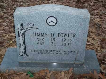 FOWLER, JIMMY D - Jefferson County, Arkansas   JIMMY D FOWLER - Arkansas Gravestone Photos
