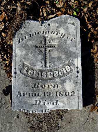 GOCIO, LOUIS - Jefferson County, Arkansas | LOUIS GOCIO - Arkansas Gravestone Photos