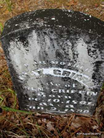GRIFFIN, LUCY - Jefferson County, Arkansas | LUCY GRIFFIN - Arkansas Gravestone Photos