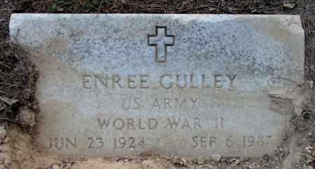 GULLEY (VETERAN WWII), ENREE - Jefferson County, Arkansas | ENREE GULLEY (VETERAN WWII) - Arkansas Gravestone Photos