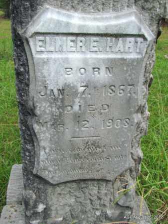 HART, ELMER E (CLOSE UP) - Jefferson County, Arkansas   ELMER E (CLOSE UP) HART - Arkansas Gravestone Photos