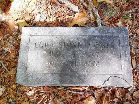STONE HAYNES, CORA - Jefferson County, Arkansas   CORA STONE HAYNES - Arkansas Gravestone Photos
