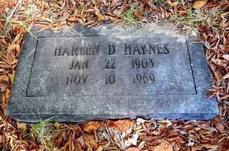 HAYNES, HARLEN D - Jefferson County, Arkansas   HARLEN D HAYNES - Arkansas Gravestone Photos