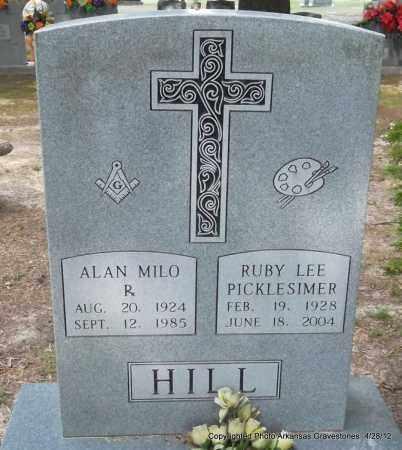 HILL, RUBY LEE - Jefferson County, Arkansas   RUBY LEE HILL - Arkansas Gravestone Photos