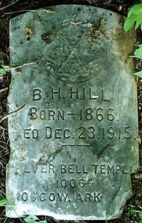 HILL, B. H. - Jefferson County, Arkansas | B. H. HILL - Arkansas Gravestone Photos