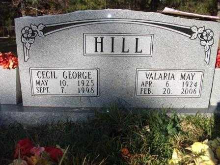 HILL, VALARIA MAY - Jefferson County, Arkansas   VALARIA MAY HILL - Arkansas Gravestone Photos