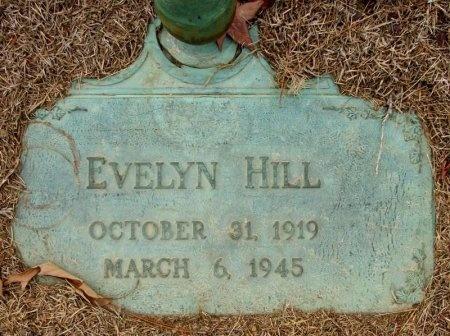 HILL, EVELYN - Jefferson County, Arkansas   EVELYN HILL - Arkansas Gravestone Photos