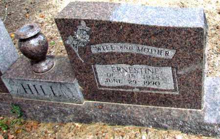 HILL, ERNESTINE - Jefferson County, Arkansas   ERNESTINE HILL - Arkansas Gravestone Photos