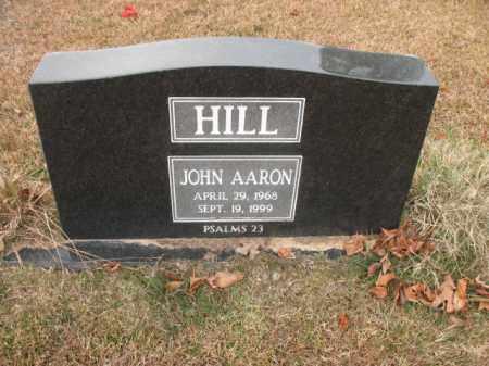 HILL, JOHN AARON - Jefferson County, Arkansas | JOHN AARON HILL - Arkansas Gravestone Photos