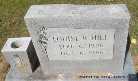 HILL, LOUISE R - Jefferson County, Arkansas | LOUISE R HILL - Arkansas Gravestone Photos