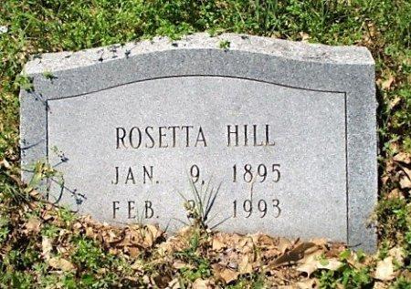 HILL, ROSETTA - Jefferson County, Arkansas   ROSETTA HILL - Arkansas Gravestone Photos