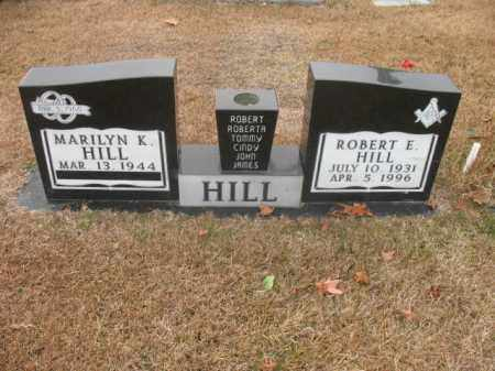 HILL, ROBERT E - Jefferson County, Arkansas   ROBERT E HILL - Arkansas Gravestone Photos