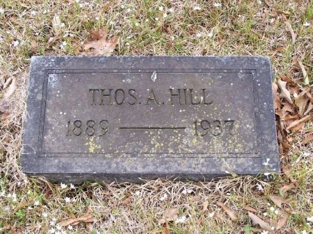 HILL, THOMAS A. - Jefferson County, Arkansas | THOMAS A. HILL - Arkansas Gravestone Photos