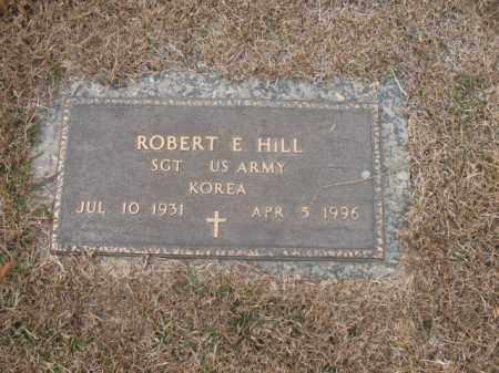HILL (VETERAN KOR), ROBERT E - Jefferson County, Arkansas | ROBERT E HILL (VETERAN KOR) - Arkansas Gravestone Photos