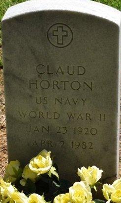 HORTON (VETERAN WWII), CLAUDE HORTON - Jefferson County, Arkansas | CLAUDE HORTON HORTON (VETERAN WWII) - Arkansas Gravestone Photos