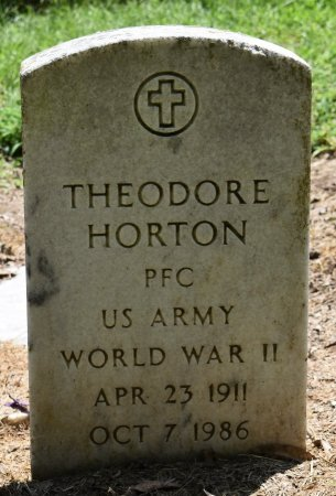 HORTON (VETERAN WWII_, THEODORE - Jefferson County, Arkansas | THEODORE HORTON (VETERAN WWII_ - Arkansas Gravestone Photos
