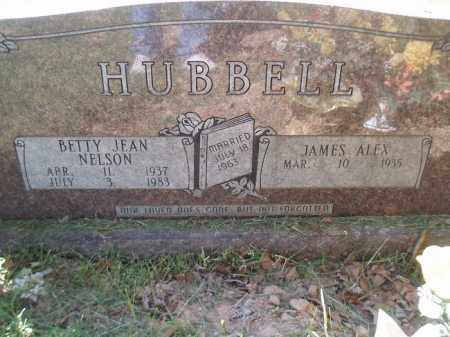 NELSON HUBBELL, BETTY JEAN - Jefferson County, Arkansas   BETTY JEAN NELSON HUBBELL - Arkansas Gravestone Photos