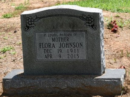 JOHNSON, FLORA - Jefferson County, Arkansas | FLORA JOHNSON - Arkansas Gravestone Photos