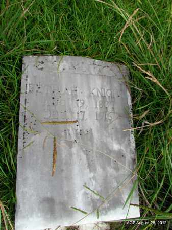 KNIGHT, BETHIAH - Jefferson County, Arkansas   BETHIAH KNIGHT - Arkansas Gravestone Photos