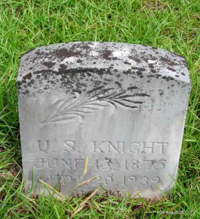KNIGHT, U S - Jefferson County, Arkansas   U S KNIGHT - Arkansas Gravestone Photos