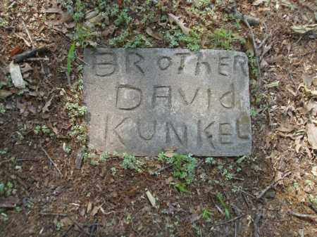 KUNKEL, DAVID - Jefferson County, Arkansas   DAVID KUNKEL - Arkansas Gravestone Photos