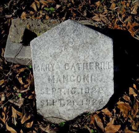 MANGONI, MARY CATHERINE - Jefferson County, Arkansas | MARY CATHERINE MANGONI - Arkansas Gravestone Photos