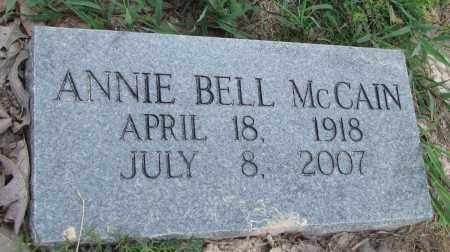 MCCAIN, ANNIE BELL - Jefferson County, Arkansas | ANNIE BELL MCCAIN - Arkansas Gravestone Photos