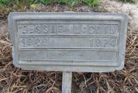 MCCAIN, JESSIE - Jefferson County, Arkansas | JESSIE MCCAIN - Arkansas Gravestone Photos