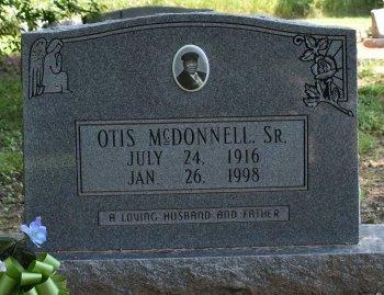 MCDONNELL, OTIS - Jefferson County, Arkansas | OTIS MCDONNELL - Arkansas Gravestone Photos