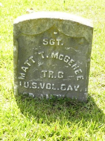 "MCGEHEE (VETERAN SAW), MADISON TATE ""MATT"" - Jefferson County, Arkansas | MADISON TATE ""MATT"" MCGEHEE (VETERAN SAW) - Arkansas Gravestone Photos"