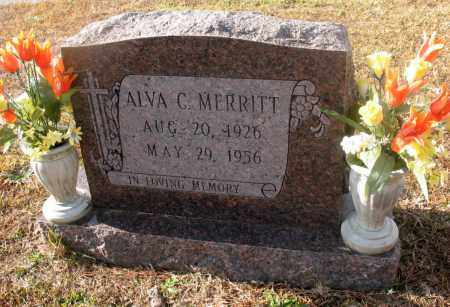MERRITT, ALVA C - Jefferson County, Arkansas | ALVA C MERRITT - Arkansas Gravestone Photos