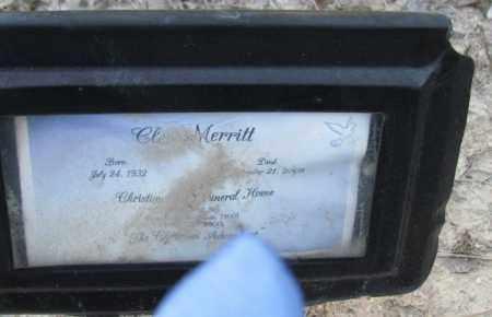 MERRITT, CLEO - Jefferson County, Arkansas   CLEO MERRITT - Arkansas Gravestone Photos