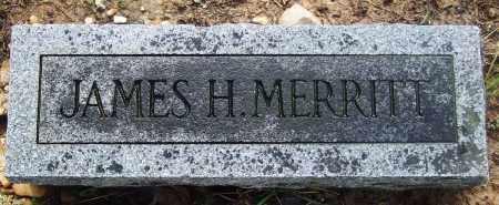 MERRITT, JAMES H - Jefferson County, Arkansas | JAMES H MERRITT - Arkansas Gravestone Photos