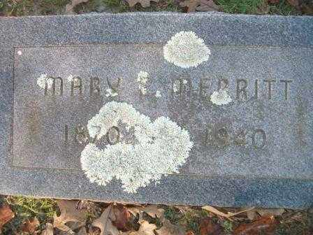 MERRITT, MARY E - Jefferson County, Arkansas | MARY E MERRITT - Arkansas Gravestone Photos