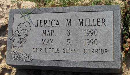 MILLER, JERICA M - Jefferson County, Arkansas | JERICA M MILLER - Arkansas Gravestone Photos