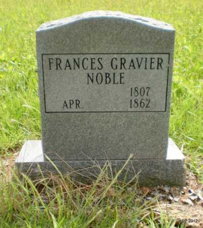 NOBLE, FRANCES - Jefferson County, Arkansas | FRANCES NOBLE - Arkansas Gravestone Photos