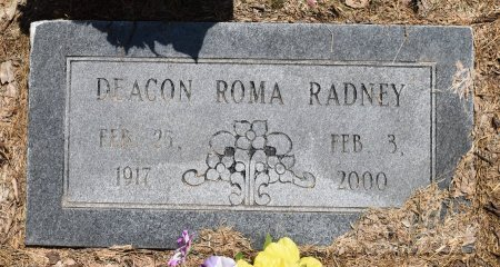 RADNEY, ROMA - Jefferson County, Arkansas | ROMA RADNEY - Arkansas Gravestone Photos