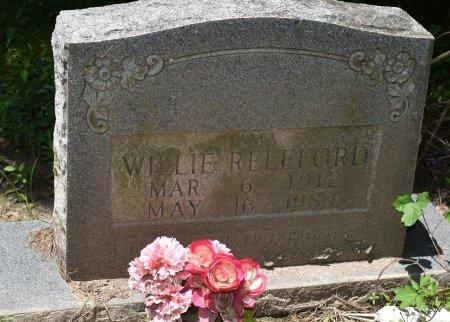 RELEFORD, WILLIE - Jefferson County, Arkansas | WILLIE RELEFORD - Arkansas Gravestone Photos
